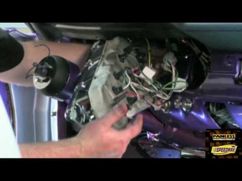 [ANLQ_8698]  Painless Performance 65-66 Mustang Wiring Harness Installation Video Part 2  - YouTube | 1966 Ford Mustang Wiring Harness |  | YouTube