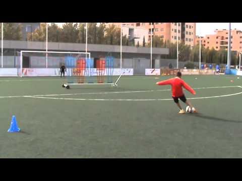 Campus fútbol Navidad 2014 Zaragoza