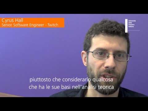 Informatics alumni Cyrus Hall - Senior Software Engineer at Twitch