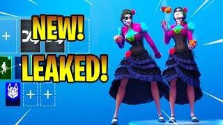 *NEW* LEAKED ROSA SKIN WITH NEW DANCE EMOTES! Fortnite Battle Royale