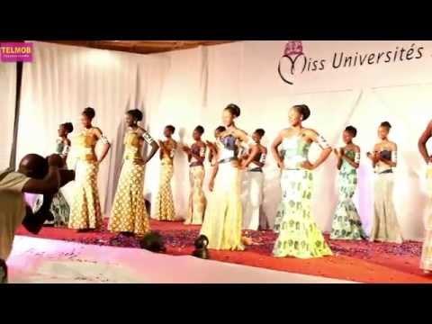 """Soirée de gala """"Miss Universités 2014"""" Burkina -  extraits vidéos HD"""
