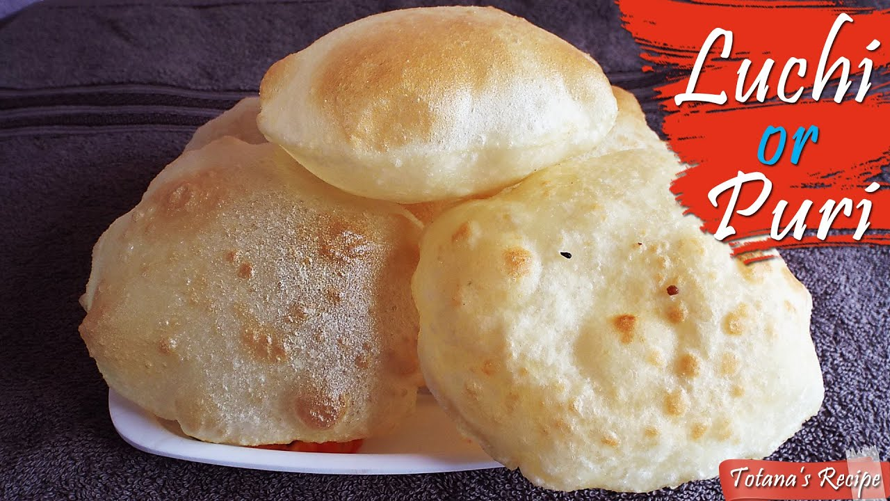 Luchi recipe bengali breakfast recipe puri recipe with easy luchi recipe bengali breakfast recipe puri recipe with easy vegetable curry forumfinder Image collections