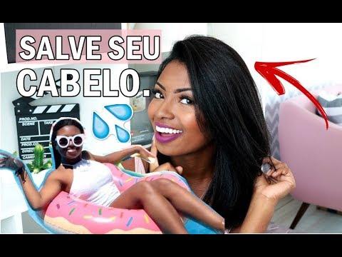 CABELO ALISADO | 3 DICAS PARA O VERÃO Camila Nunes