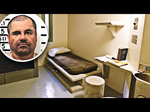 Inside El Chapo's Newest Supermax Prison Cell