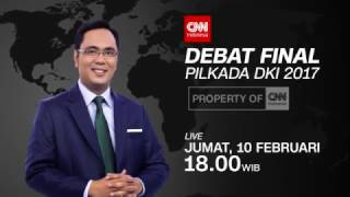 Video CNN Indonesia - DEBAT FINAL PILKADA DKI 2017 download MP3, 3GP, MP4, WEBM, AVI, FLV Agustus 2017