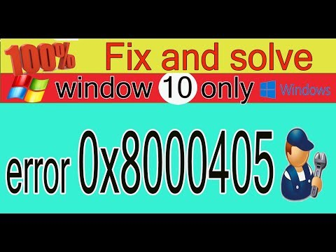How To Fix Error Code 0x80004005 In Windows 10  / 2020 100% Solve By Easy Method