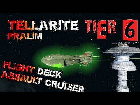 Tellarite Pralim Flight Deck Assault Cruiser [T6] – with all ship visuals - Star Trek Online