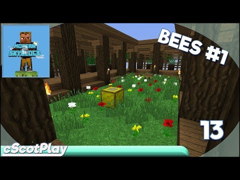 Modern Skyblock 2 w/ cScot – Ep 13: Bees #1 - Let's Play/Walkthrough