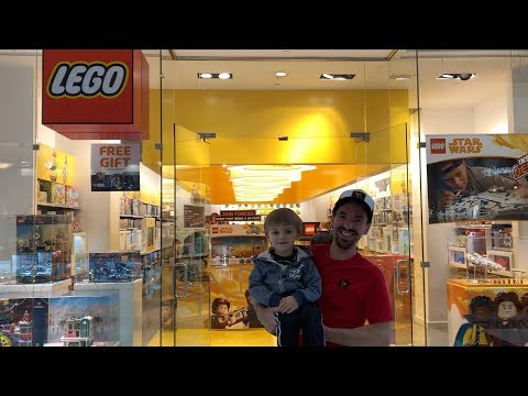 WE TAKE OVER THE LEGO STORE!  | King Of Prussia Mall