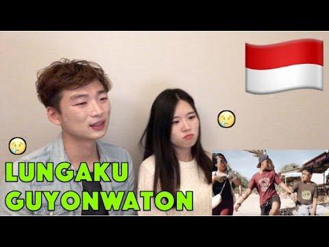 Reaksi GuyonWaton Official - Lungaku (Official Music Video) Korean reaction