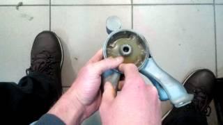Реставрация полиуретаном опоры двигателя задней Лансер 9 Lancer ІХ Аутлендер