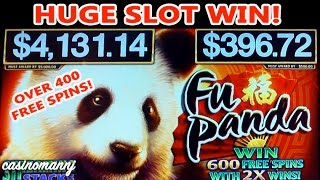 FU PANDA SLOT - *NEW GAME* - MAX! - HUGE WIN!! - 400+ FREE Spins! (Casinomannj) - Slot Machine Bonus(FU PANDA SLOT - **NEW GAME** - HUGE WIN!!!! - (Casinomannj) - Slot Machine Bonus Here is a new slot Fu Panda by AGS. Looks as if everyone is jumping ..., 2016-10-16T11:30:01.000Z)