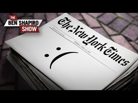 The Saddest Newspaper In The World | The Ben Shapiro Show Ep. 848