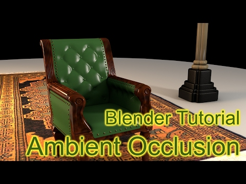 Blender Tutorial - Ambient Occlusion