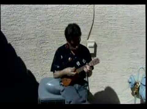 ROCKIN' THE UKE Roy Smeck Version By Vincent Cortese