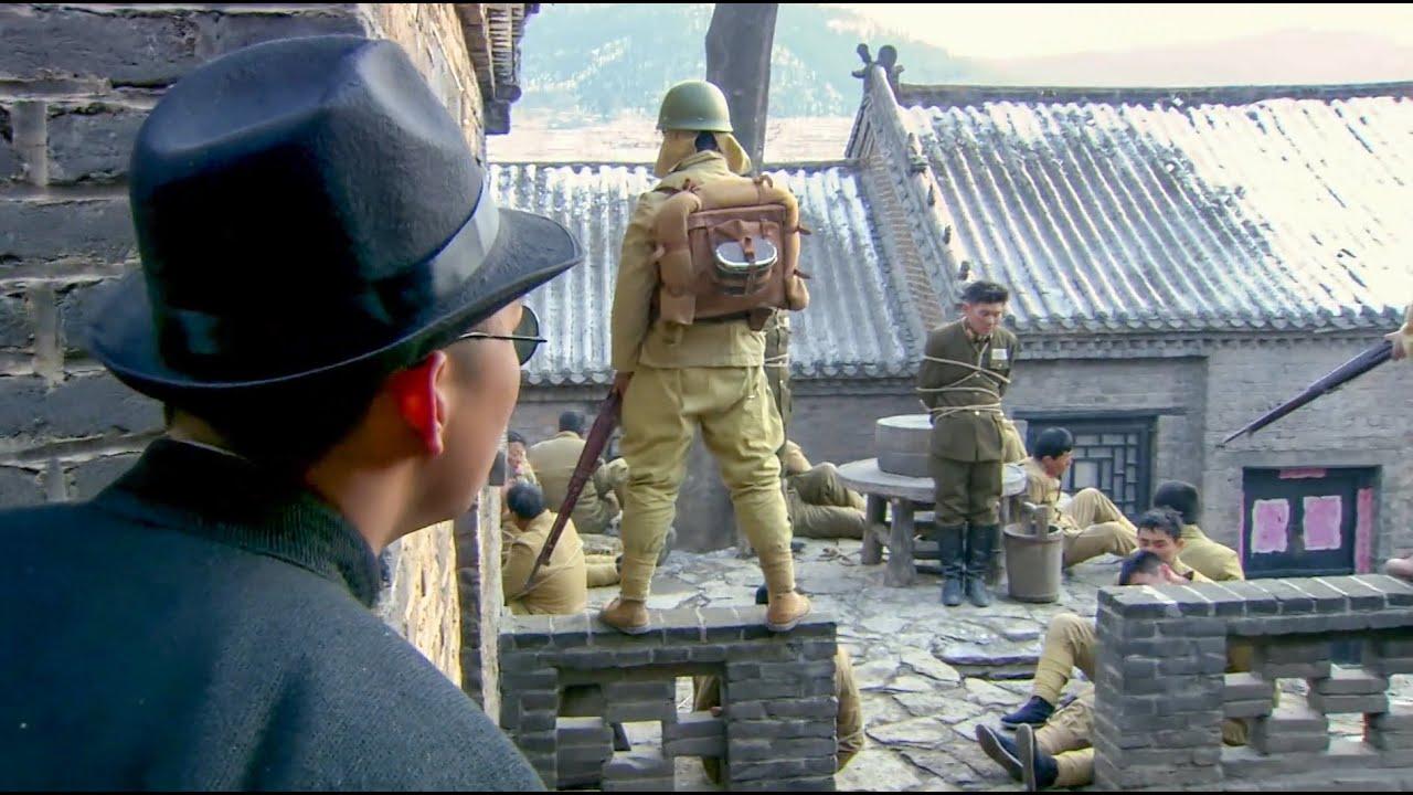 國軍中了日軍的埋伏,村民竟用兩塊石頭做武器,輕鬆將他們救出!【抗日】