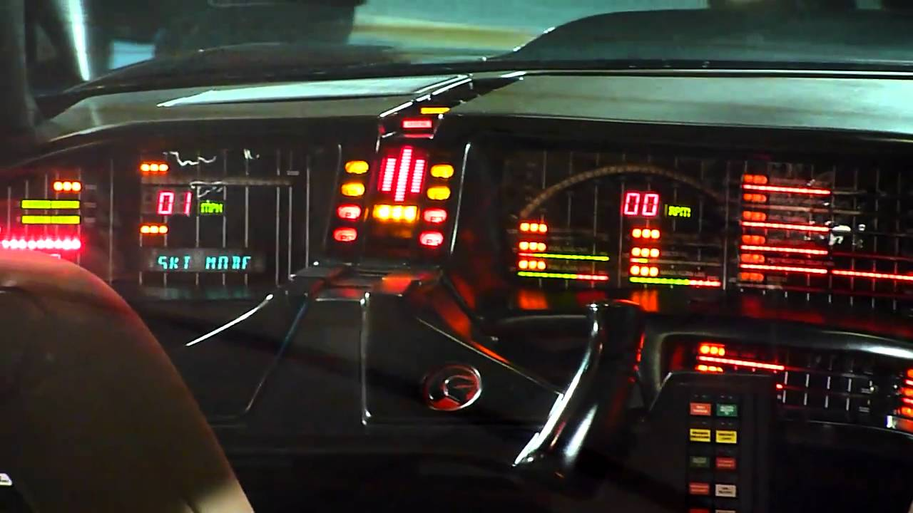 Knight Rider Kitt Dashboard Youtube