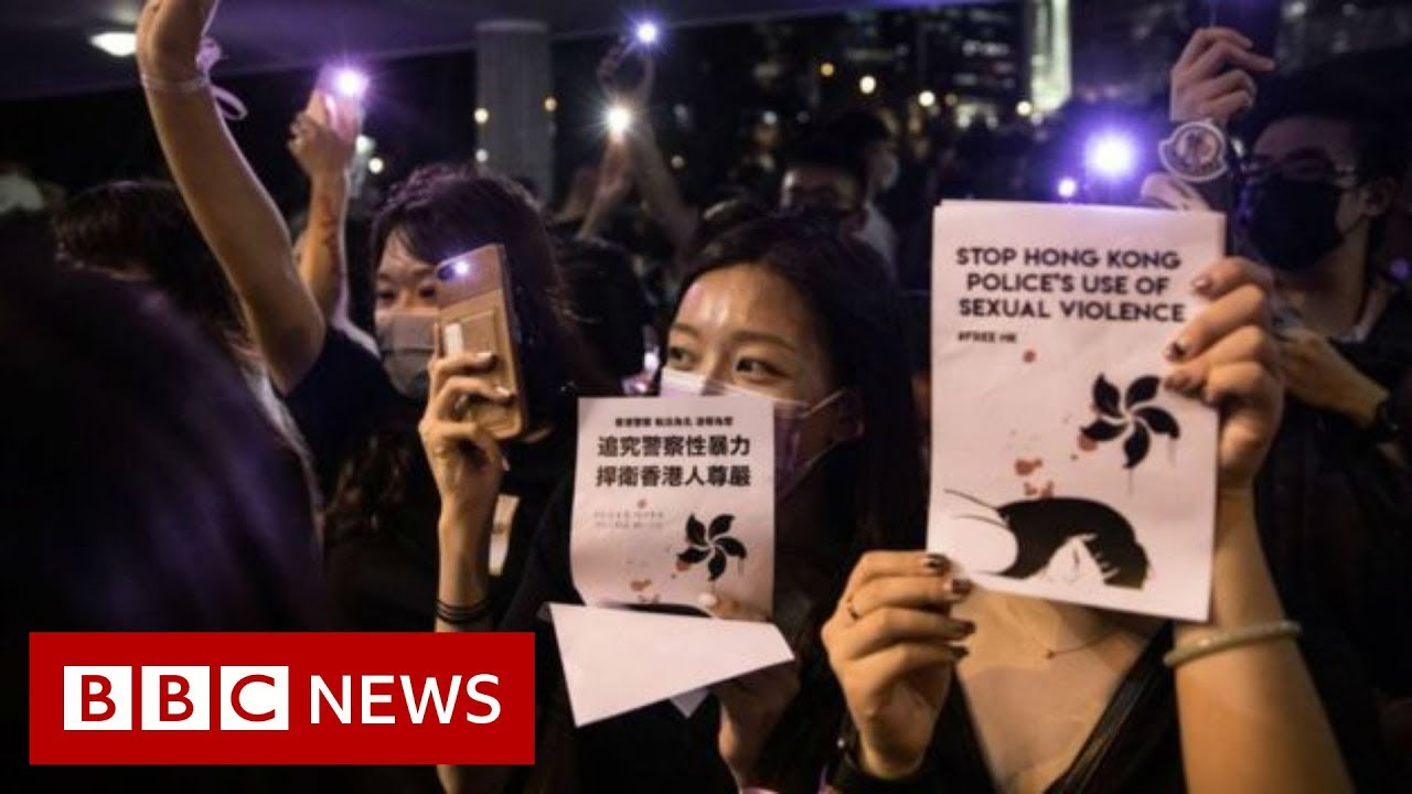 Hong Kong Park Lights Up In Sex Abuse Protest - Bbc News -5341