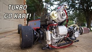 Go Kart Turbo Install! | Turbo Drift Kart Build