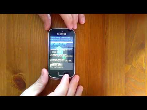 Samsung GALAXY mini 2 GT-S6500 - Failed hard reset