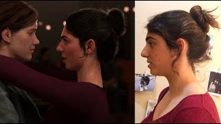 I modeled for Dina- the Last Of Us Part II