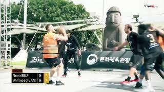 Баскетбол 3х3 - Nokian-spb Jeju Challenger 2019