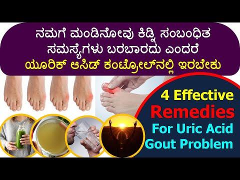 ಯೂರಿಕ್ ಆಸಿಡ್ ಹೆಚ್ಚಾದರೆ ಏನಾಗುತ್ತದೆ ಗೊತ್ತಾ? 4 Effective Natural Solutions for Gout Uric Acid Problem