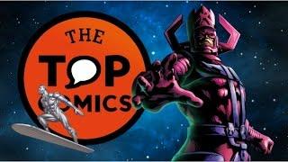 8 cosas de Galactus y Silver Surfer