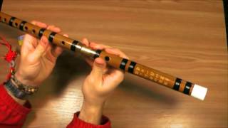 Флейта Дизи с сайта Aliexpress. Первый взгляд/DIZI flute unpack