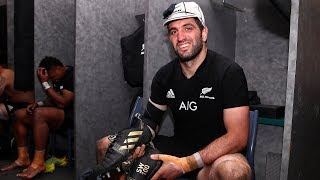 EXCLUSIVE   In the sheds with the All Blacks