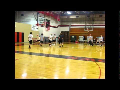 Header Scores Goal . . . in Basketball