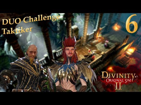[GER/Deutsch] #006 Let's Play Together Divinity Original Sin 2 - Duo Challenge
