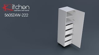 [Premier] Florence - Assembly for 600mm Pantry with Internal Drawers
