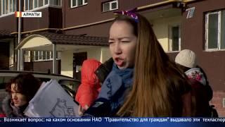 Строительный дефект: Жильцы новостройки Алматы не могут заселиться в квартиры из-за недоделок