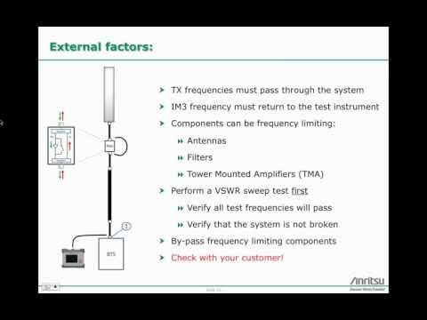 Anritsu Webinar: PIM Testing: Which frequency band test set should I use?