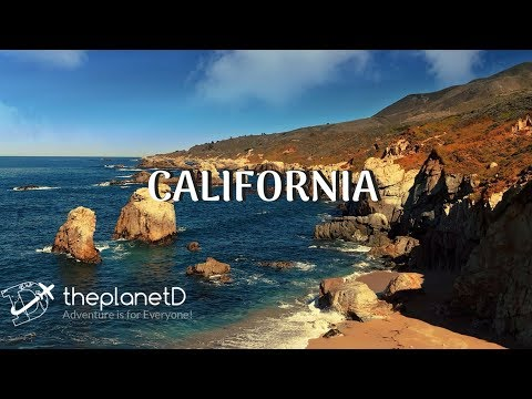 Scenes from California Road Trip - Big Sur to Tahoe in 4K | The Planet D