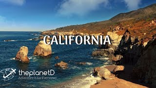 Scenes from California Road Trip - Big Sur to Tahoe in 4K   The Planet D