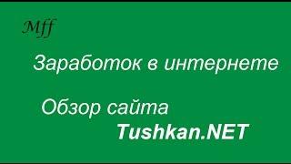 Работа в интернете.  Выпуск 4 Tushkan NET -  заработок на комментариях к фильмам