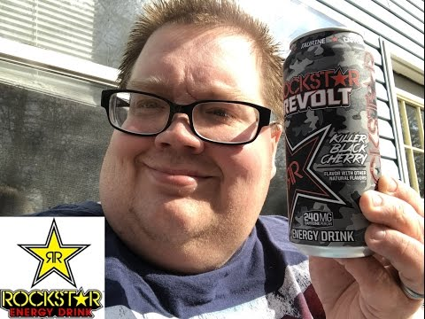 Rockstar Revolt Killer Black Cherry Energy Drink review
