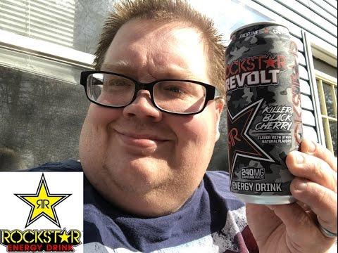 Rockstar Revolt Killer Black Cherry Energy Drink review