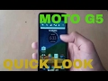 MOTO G5 UNBOXING | HINDI  OVERVIEW AND HANDS ON | MOTO G5