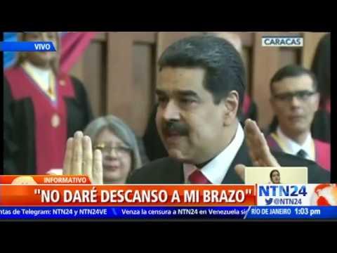 Noticias Locales - JUEZ OLVIDA EL JURAMENTO DE MADURO