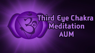 Ajna Third Eye Chakra Meditation ( AUM ) 108 Repetitons