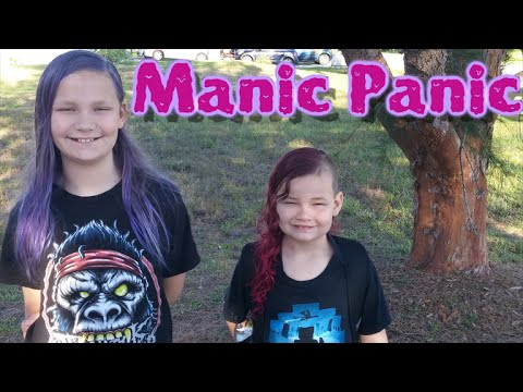 Dyeing Kids Hair with Manic Panic! - YouTube