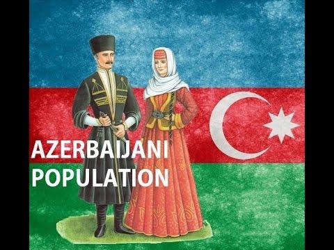 Azerbaijani population / Azərbaycan Əhalisi / Население Азербайджана