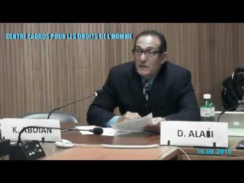 Side-Event : Minority Rights in Iran - 16/09/2016 - Part 3/4