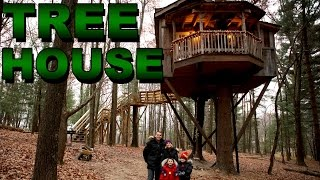 Our NEW EPIC TREE HOUSE!