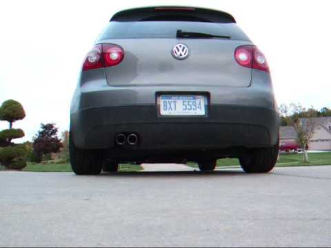 2009 Volkswagen GTI MKV MK5 With Stock Cat Back Exhaust System -- 12 Feet Away