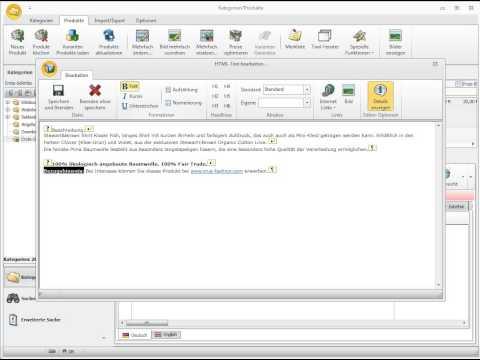 OXID-Client Tutorial: Beschreibung