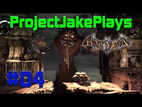 Project Arkham Asylum #04 - Scarecrow and Bane Attack!!!